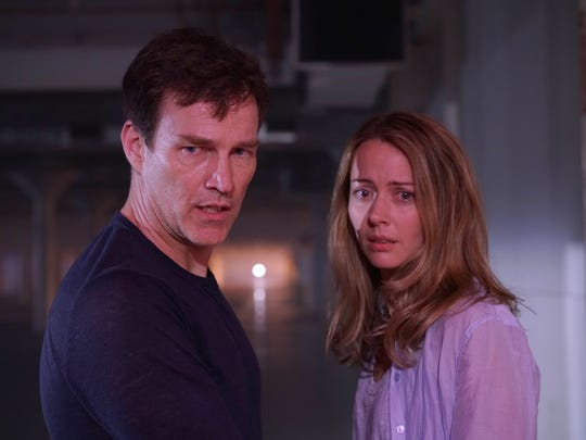 Stephen Moyer and Amy Acker star as parents of mutant