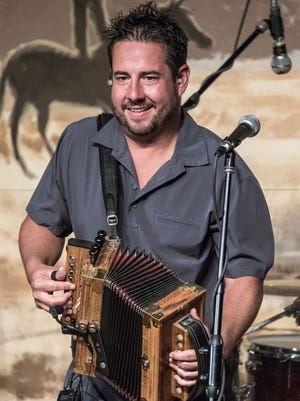 Cajun musician Kevin Naquin, along with zydeco accordionist Geno Delafose, open the fall season of Downtown Alive!