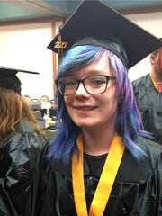 Oregon Connections Academy student Megan Peterson from