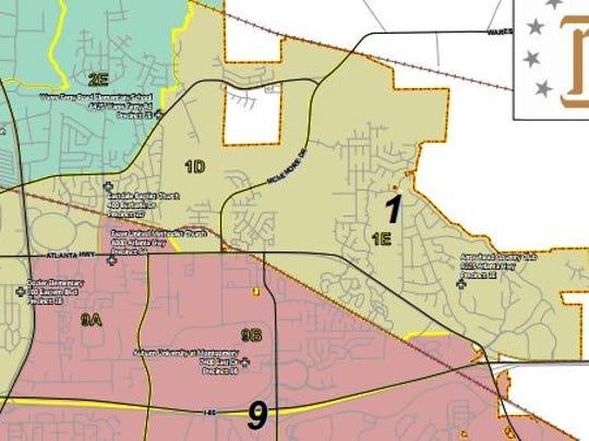 Montgomery District 1