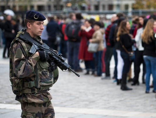 EPA FRANCE PARIS ATTACKS AFTERMATH WAR ACTS OF TERROR FRA