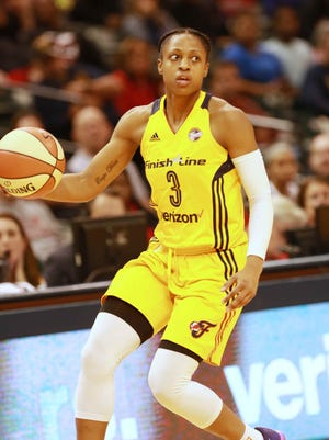 First-round pick Tiffany Mitchell leads the Fever in scoring.