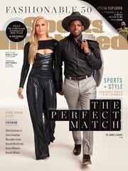 P.K. Subban and Lindsey Vonn on the cover of Sports Illustrated.