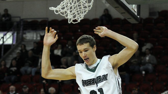 Former UWGB standout Alec Brown was drafted Thursday night by the Phoenix Suns with the No. 50 pick overall.
