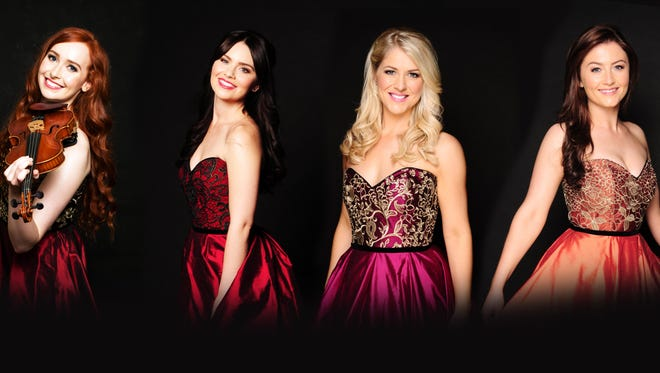 Celtic Woman is, from left, Tara McNeill, Máiréad Carlin, Susan McFadden and Éabha McMahon.