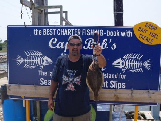 Ted Kilborne from Warrenton, Virginia caught this nice