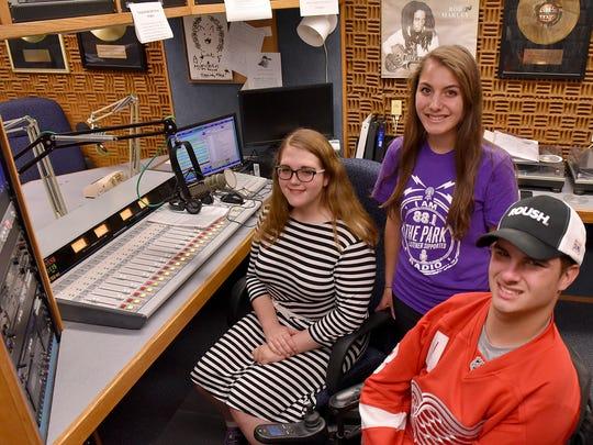 WSDP staffers Zain Omair, Amanda Barberena, and Clay