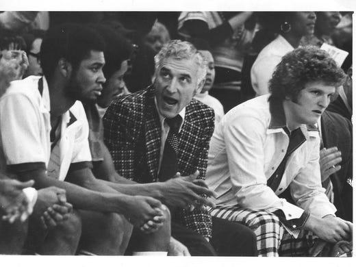 Gus Ganakas was MSU's basketball coach from 1969-76.