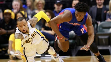 Pacers 105, Pistons 84