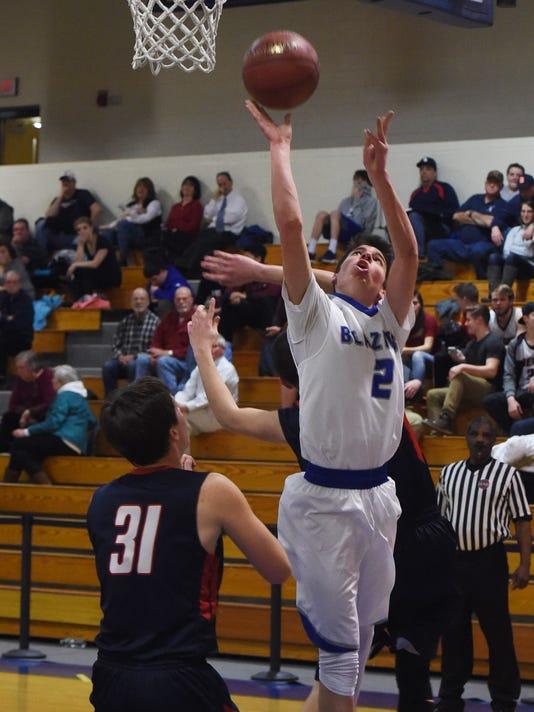 Boys basketball, Millbrook v. Tri-Valley