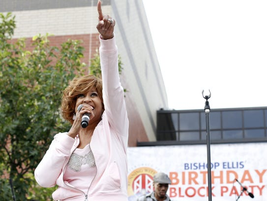 Detroit's Dorinda Clark-Cole is up for best gospel
