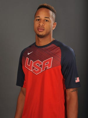 Vince Edwards worked out with Team USA's U19 team, but didn't make the final cut.