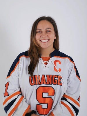 South Salem's Sofia Rossi, a junior at Syracuse University, said she has taken the college's Stay Safe Pledge, committing to follow protocols designed to keep COVID-19 from returning to campus when in-person classes resume. Still, she's dubious about how long the campus will remain open.