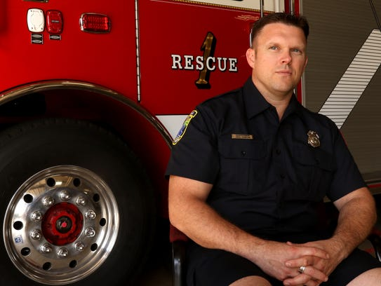 Jared Thompson, a paramedic in Wausau, described the