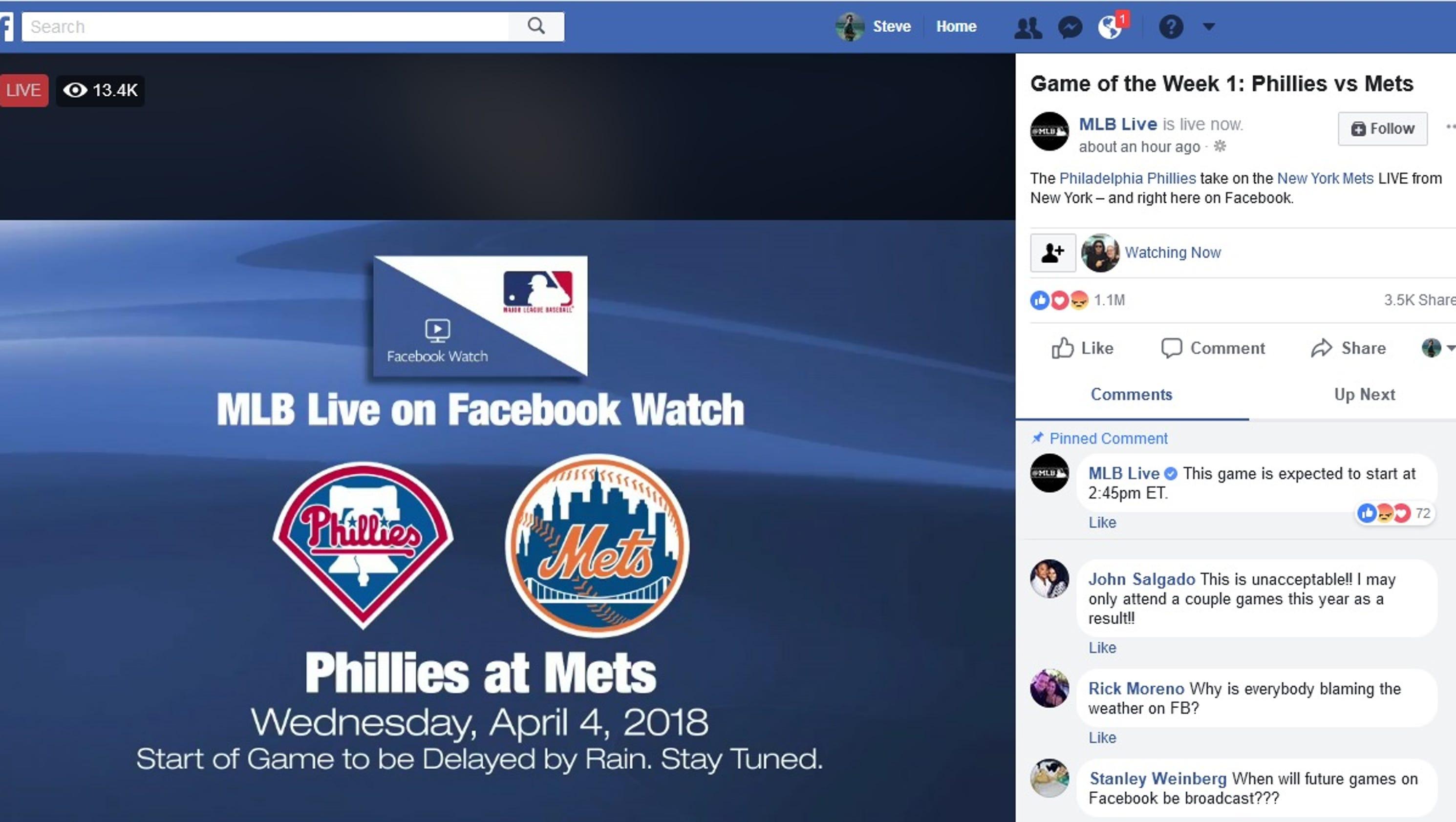 WGT Baseball: MLB