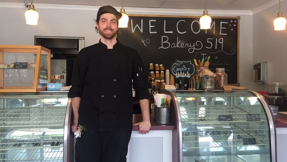 Chef John Stewart, owner of Kitchen 519 and Bakery