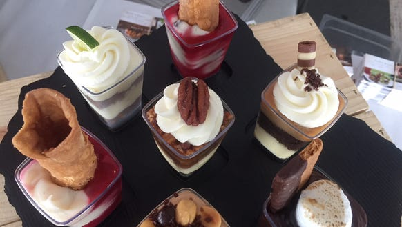 A Taste of South Jersey medley of mini desserts from