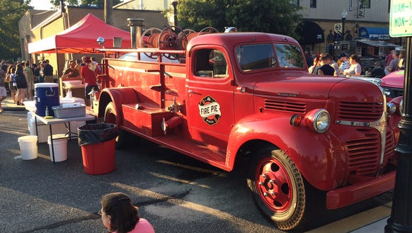 Fire Pie Is A Converted Antique Truck Turned Mobile