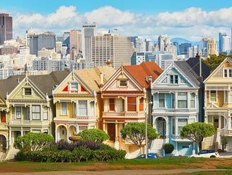 The US now has 197 cities where the median home value tops $1 million