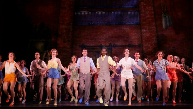 """The Tony-award winning musical """"42nd Street"""" will be performed 8 p.m. March 4 at The Strand Theatre."""