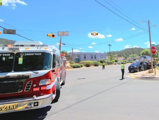 Two car accident Ruidoso