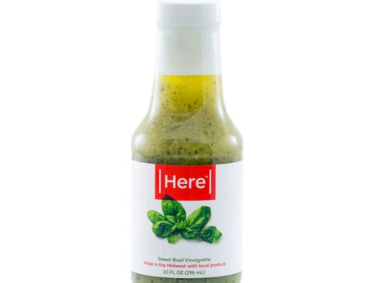 """Here's line of products began with salad dressing made with """"ugly basil."""""""