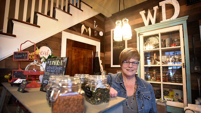 Whirling Dervish will be the fruition of a dream for Annville resident Becky Gacono. The bakery and coffee shop, located at 50 W. Main St., will officially open April 1.