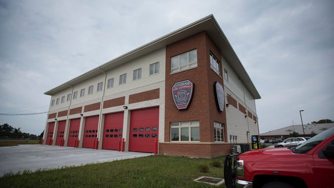 The new Citizens Fire Co. home at 35 W. Walnut St. in Palmyra.