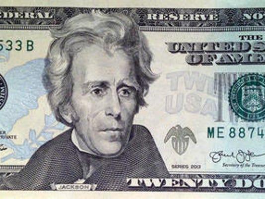 twenty dollars, twenty dollar; $20