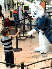 The Easter Bunny will pose for photos 10 a.m. to 9 p.m. Mondays through Saturdays and 11 a.m. to 6 p.m. Sundays through Saturday, March 31 in the center court of La Palmera mall.