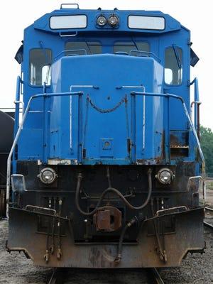 Diesel Freight Train - Blue