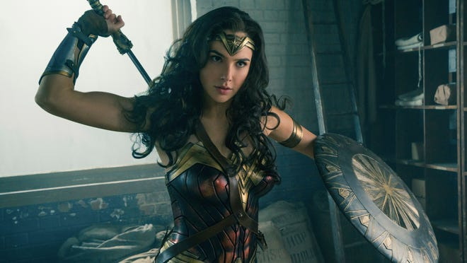 Gal Gadot stars as 'Wonder Woman.'