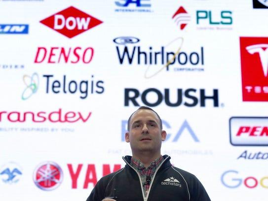 Ted Serbinski, managing director Techstars Mobility,