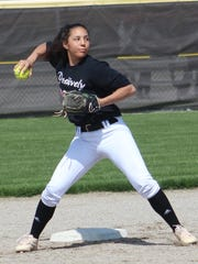 North Farmington was undefeated after its first seven games, thanks in part to the strong play of shortstop Mara Sczecienski who is hitting at a .684 pace, with 11 runs and 11 RBI while batting from the lead-off position.