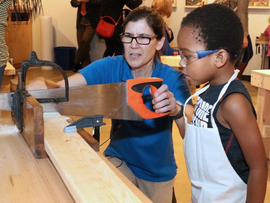 This past spring, Conner Prairie opened a pop-up Makesmith
