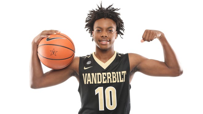 Brentwood Academy point guard Darius Garland, a McDonald's All-American, is a five-star prospect and Vanderbilt signee.