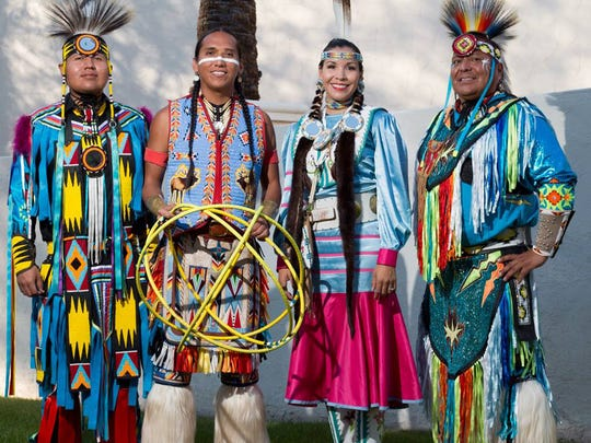 During the Litchfield Park Festival of the Arts, Native