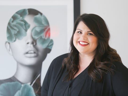 Kortney Norris, stylist and owner of the new Salon