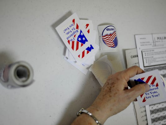 May 4 election day