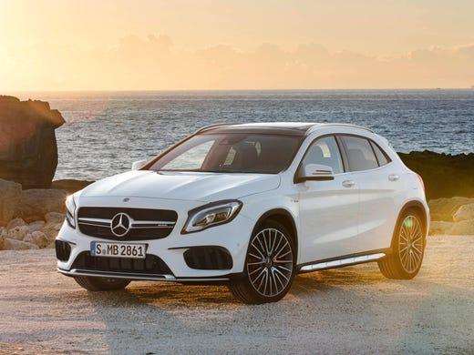 Mercedes Benz Gets Aggressive In Redo Of Gla Small Suv