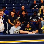 Roberson senior Cameron Parker has signed to play college football for East Tennessee State.