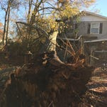 Residents share tornado damage in Simpsonville