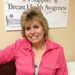 Claire Harrison is a two-time breast cancer survivor.