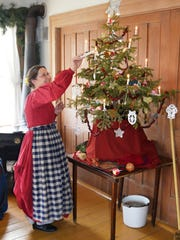 """During """"A Wade House Christmas"""", the ladies' parlor"""