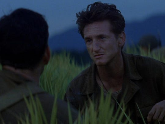 "Sean Penn stars in ""The Thin Red Line."""