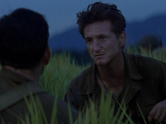 "Sean Penn stars in ""The Thin Red Line."""