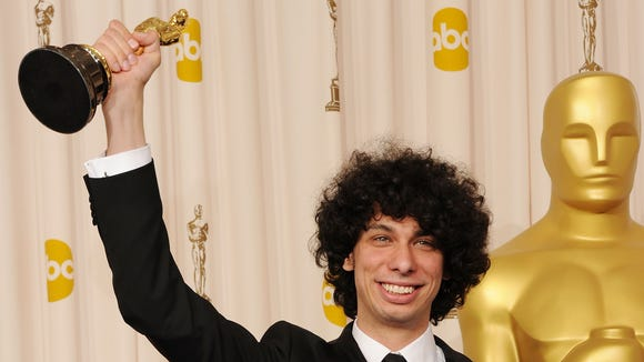 Director Luke Matheny, winner of the award for Best Live Action Short Film for 'God of Love', poses in the press room during the 83rd Annual Academy Awards held at the Kodak Theatre on February 27, 2011 in Hollywood, California.