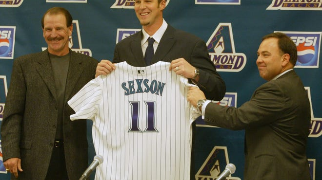 The trade that brought Richie Sexson to Arizona decimated the D-Backs' roster, and after Sexson went down with an injury, the 2004 team finished 51-111. But that roster was a far cry from this year's team.