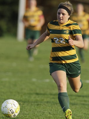 Ashwaubenon senior Kayla Minor combined to score eight goals in two victories in the past week.