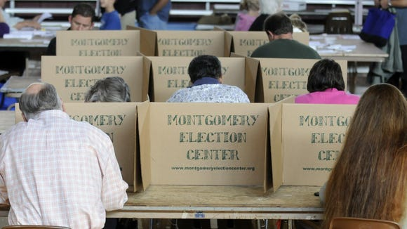 File photo shows voters casting ballots in Montgomery.